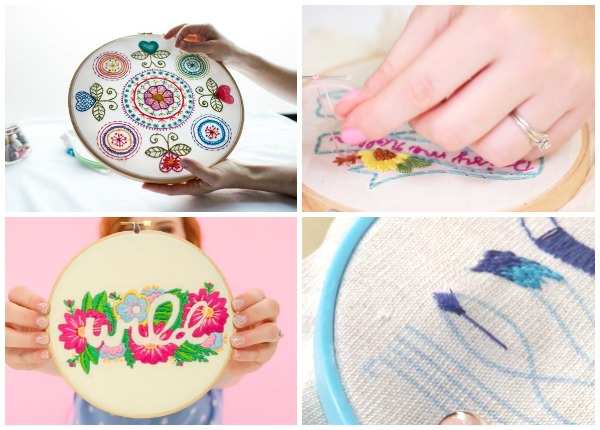 Classes to Unlock the Secrets of Embroidery