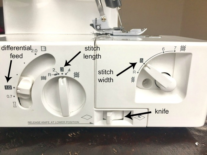 What is a serger and how do I use it?: If you are wanting to get into garment sewing then you need to know all about a serger. Click through for a full walkthrough of how to use the machine (and figure out what it even is!) | www.sewwhatalicia.com
