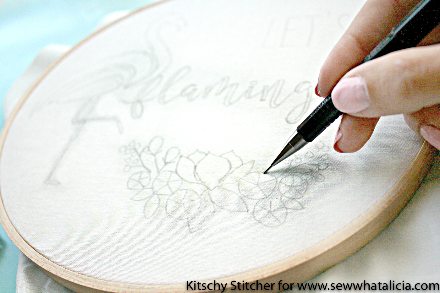 Embroidery How To With Kitschy Stitcher Sew What Alicia