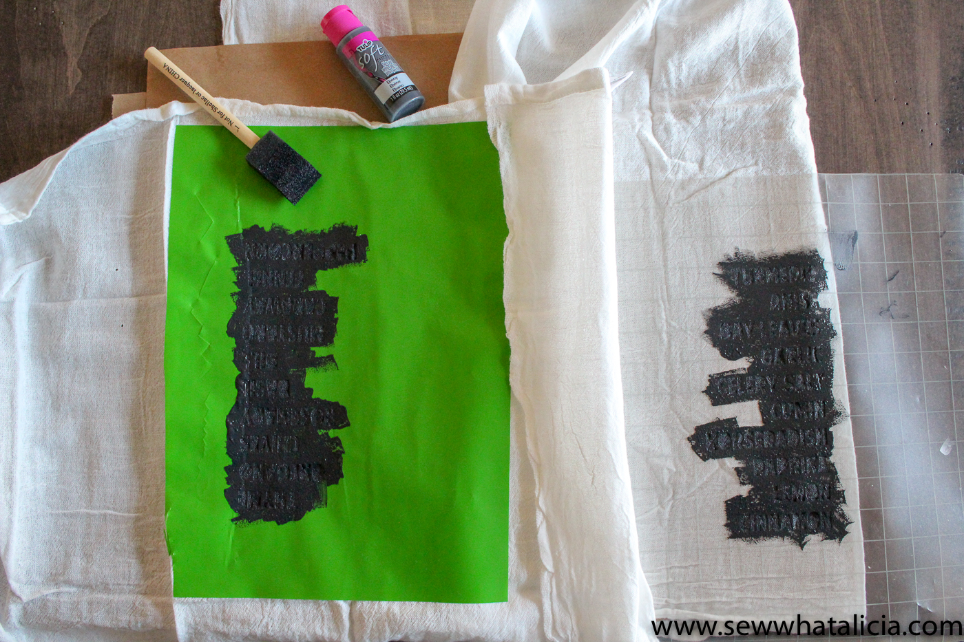 How to Make a Stencil with a Cricut - Sew What, Alicia?