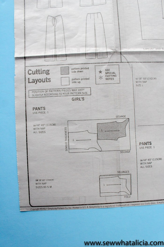 How to Read a Sewing Pattern: Reading these patterns can be so complicated. They contain so much information. Click through for instructions and tips for reading a sewing pattern. | www.sewwhatalicia.com