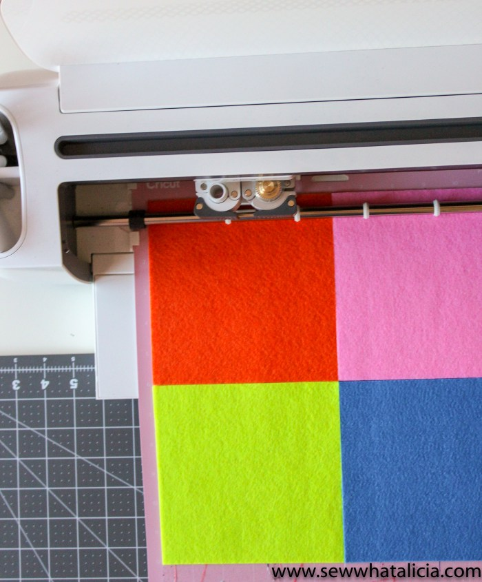 Cutting Felt with Cricut; Tips and Tricks: All the tips and tricks you need to know for cutting felt with various Cricut machines. Click through for all the information you need! | www.sewwhatalicia.com