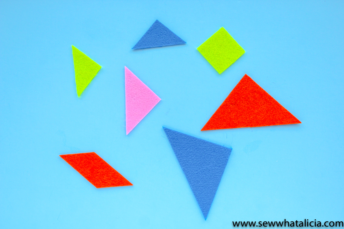 image about Tangram Printable Pdf titled Cuttable and Printable Tangrams PDF - Sew What, Alicia?