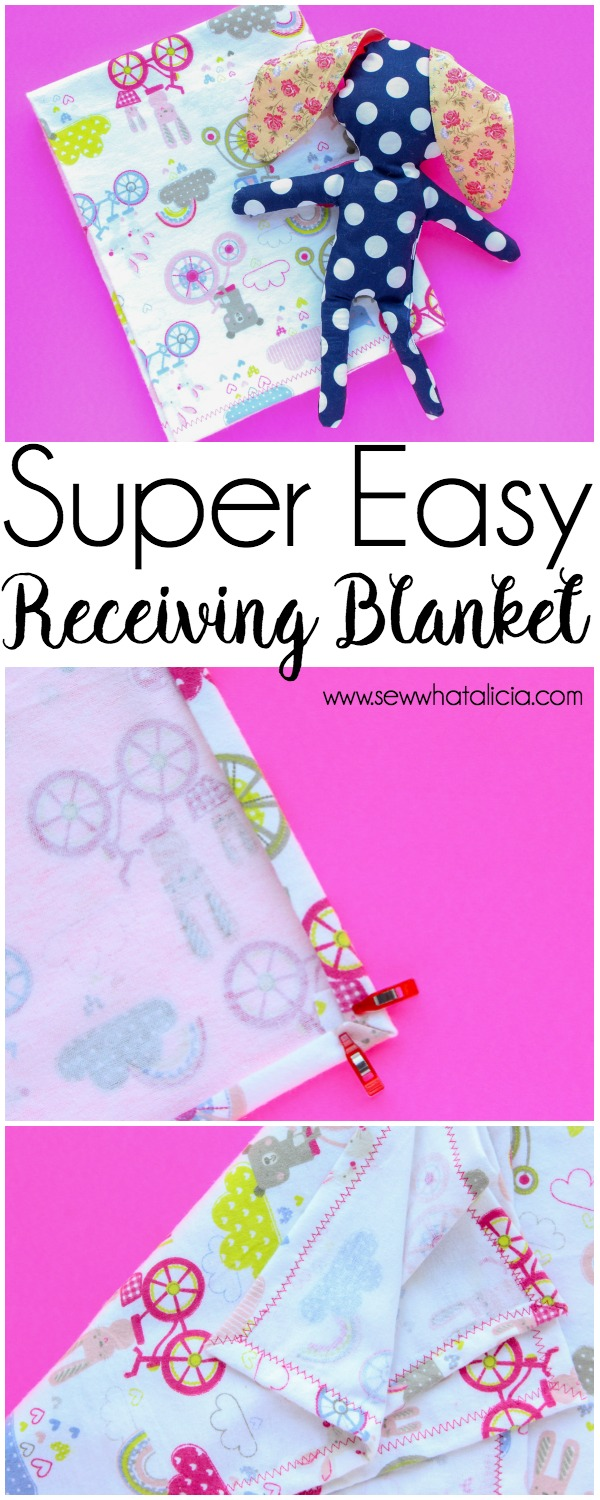 How To Make A Baby Blanket Sew What Alicia