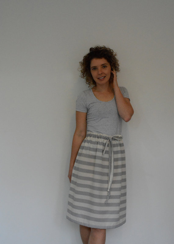 Skirt Sewing Patterns for Women and Girls: Drawstring Skirt | www.sewwhatalicia.com