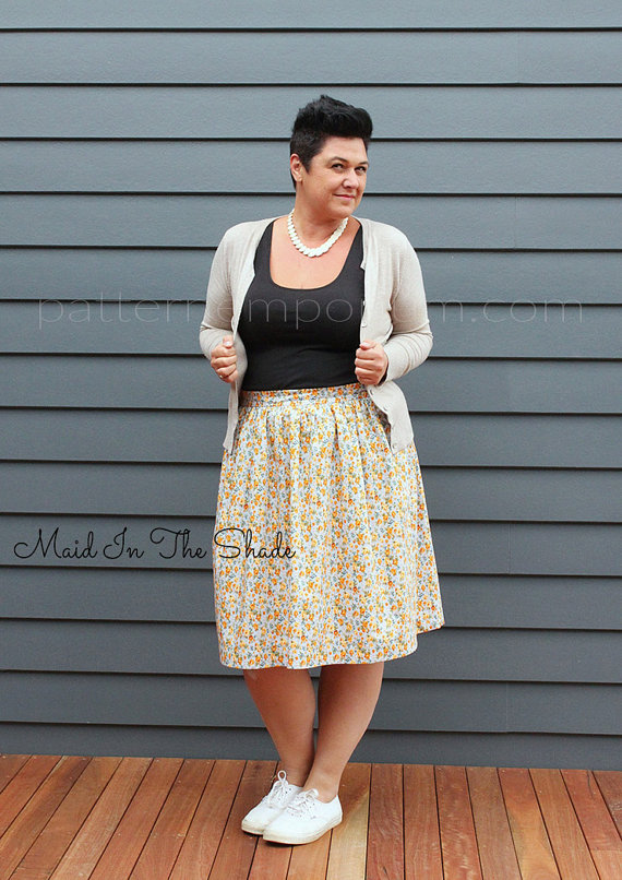 Skirt Sewing Patterns for Women and Girls: Gathered Skirt   www.sewwhatalicia.com