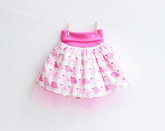 Skirt Sewing Patterns for Women and Girls: Woodland Tulle Skirt | www.sewwhatalicia.com