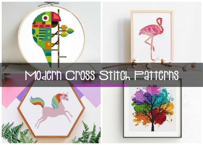 Must Make Modern Cross Stitch Patterns