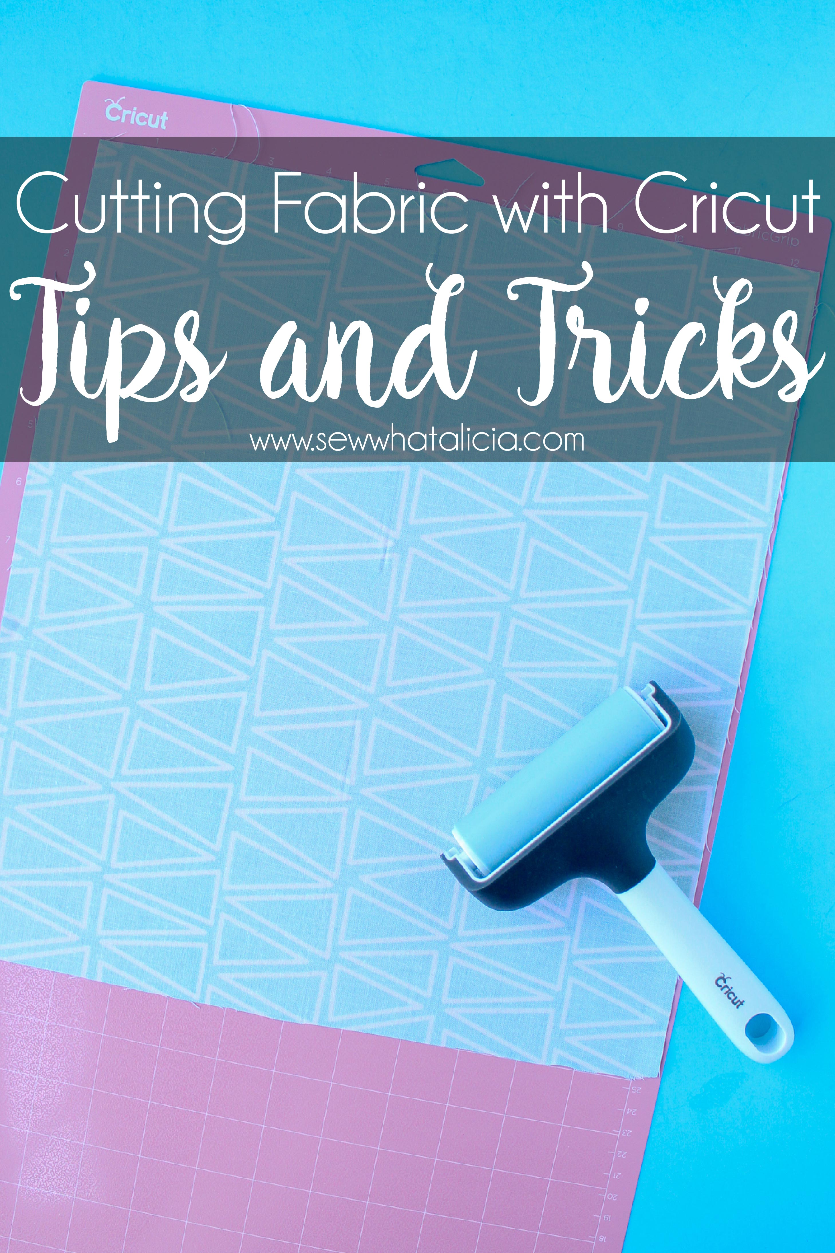 How to Cut Fabric with Cricut Tips and Tricks - Sew What