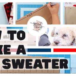 How to Make Dog Sweaters – Sewing Tutorial
