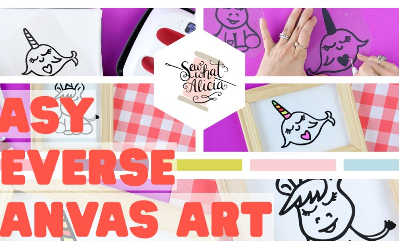 Reverse Canvas Signs Tutorial