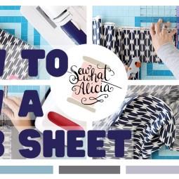 How to Make a Crib Sheet