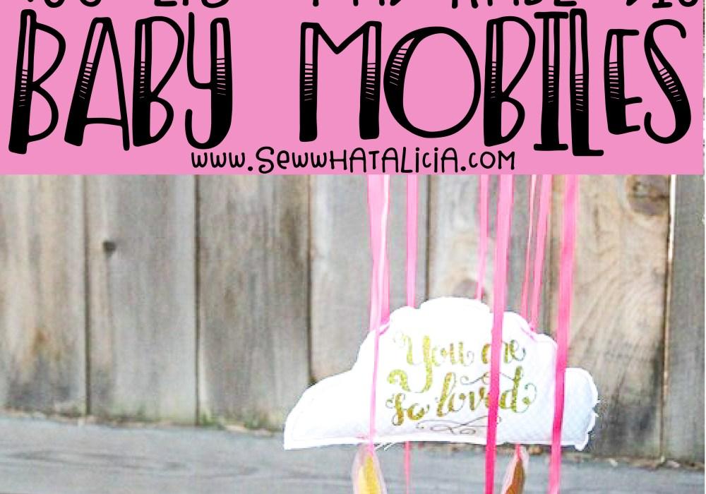 Huge List of DIY Baby Mobile Patterns