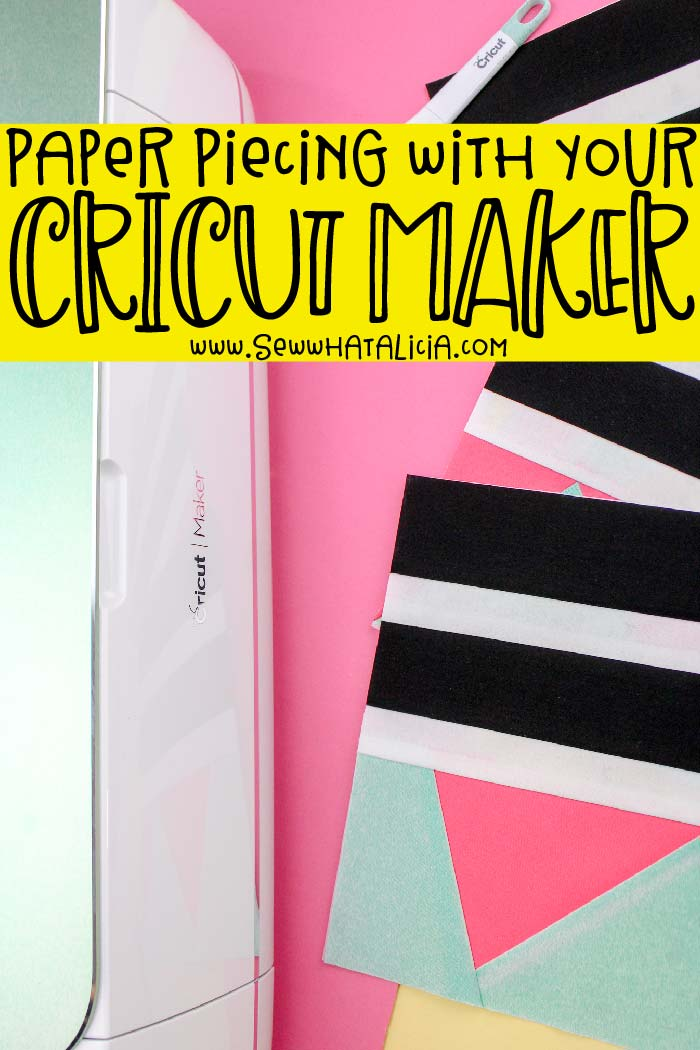 How to Use a Cricut Maker with Fabric: Learn yo use your Cricut Maker with fabric with this quilt block tutorial. Cut all your pieces with the Maker for a quick and easy quilting project. #handmadewithjoann #joannlovescricut #ad| www.sewwhatalicia.com