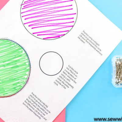 Printable Sewing Practice Sheets: If you are new to sewing start here. Practice lots of different stitches with these printable practice sheets. This is great for sewing beginners. Click through for all the free printable practice cards. | www.sewwhatalicia.com