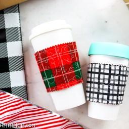 DIY Coffee Cup Sleeve Tutorial