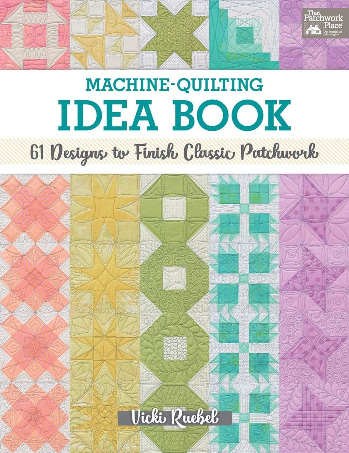 book on how to machine quilt