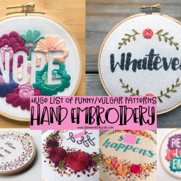 Funny Embroidery Patterns – Vulgar Hand Embroidery