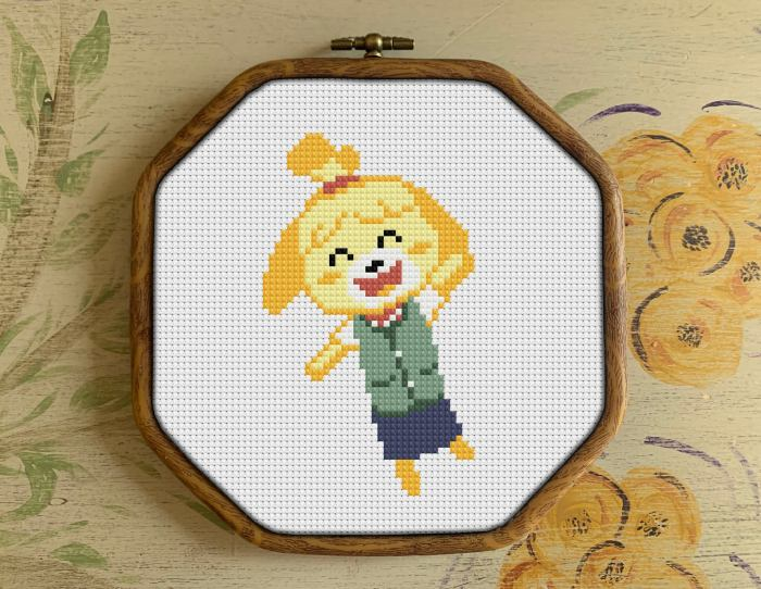 pictured Isabelle from animal crossing