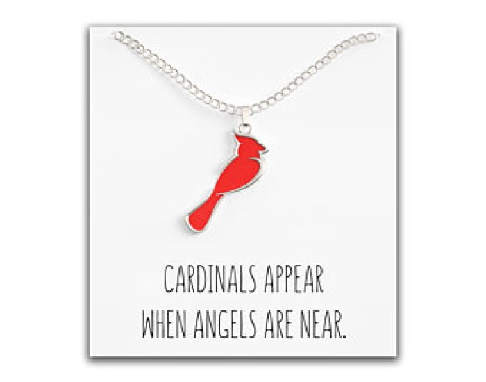 Cardinal Necklace for Women