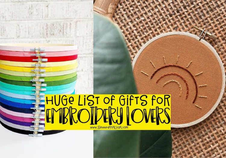 Embroidery Gifts for Crafty People