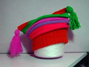 colourful childs hat