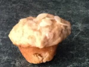 Rhubarb Muffin up close
