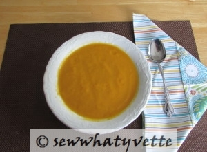 Velvety Carrot Ginger Soup