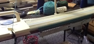 KX350 knitting machine