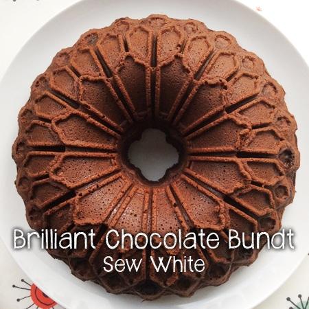 Sew White brilliant chocolate bundt 4