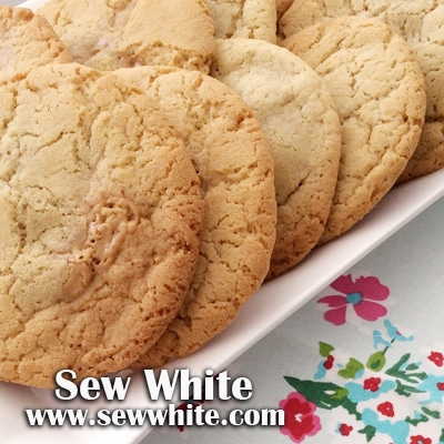 Sew White peanut butter and banana cookies 5