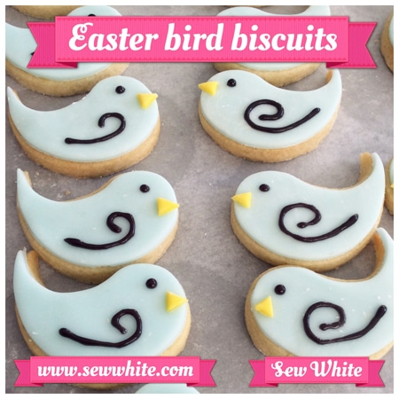 Sew White Easter Word Bird Biscuits 3