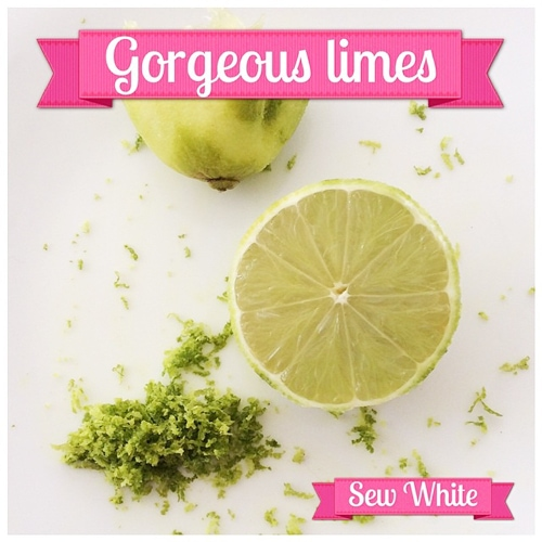 Sew White ginger lime and strawberry cheesecake 2