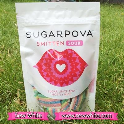 Sew White Sugarpova Sharapova smitten sours 1
