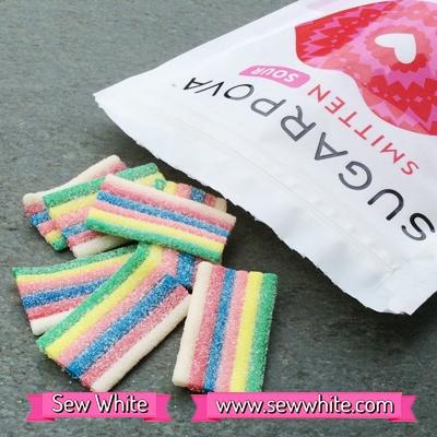 Sew White Sugarpova Sharapova smitten sours 2