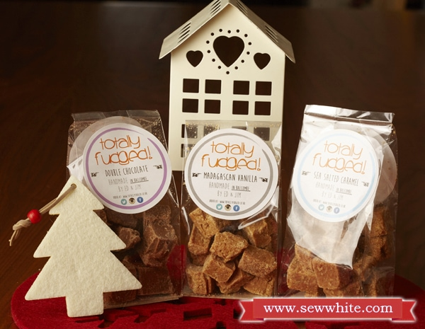 Sew White Christmas 2014 food and drink 12 totally fudged