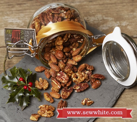 Sew White Christmas 2014 food and drink 8 nuts