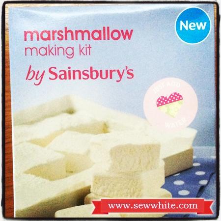 Sew White mulled wine marshmallows kit Sainsburys 2