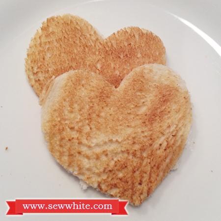 Sew White Hartley's Jam Valentine's Day breakfast 3