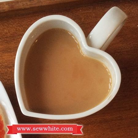 Sew White Hartley's Jam Valentine's Day breakfast 5