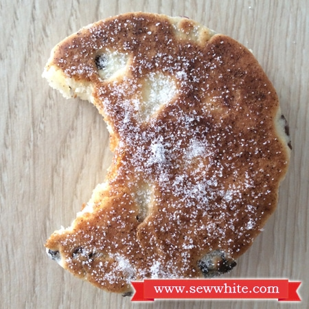Sew White Easy Cranberry ginger welsh cakes recipe 6