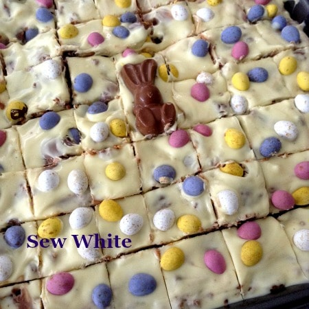 Easter Chocolate Fridge Tray Bake
