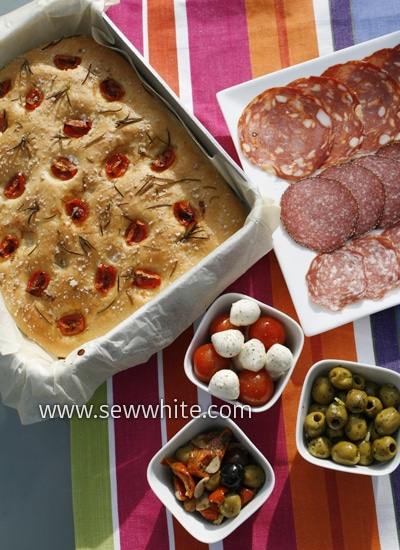 Sew White summer food 1