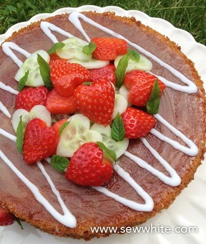 Pimm's Cake recipe Sew White 3