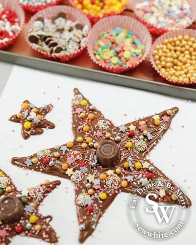 Sew White Chocolate Star Christmas Tree 2