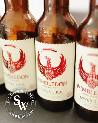 Wimbledon brewery tower SPA for the pulled pork recipe