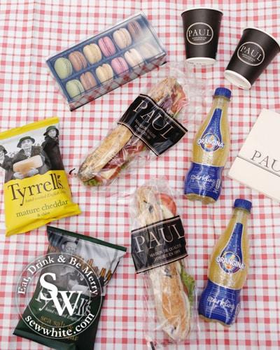 Sew White sewwhite Paul Bakery picnic 1