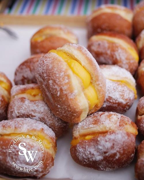 luso brasil custard filled doughnuts