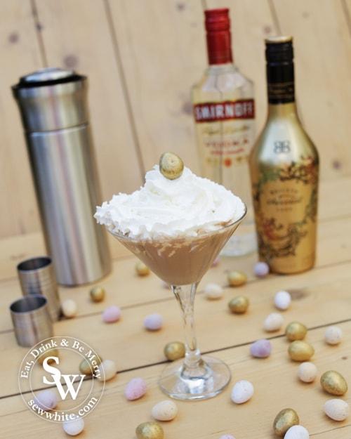 Easter Chocolate Flat White Martini