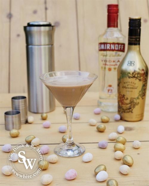 chocolate flat white martini